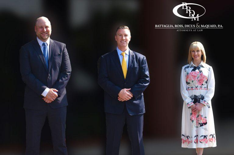 3 Attorneys From Battaglia, Ross, Dicus & McQuaid, P.A. Continue Firm's Legacy of Leadership in the St. Petersburg Bar Association