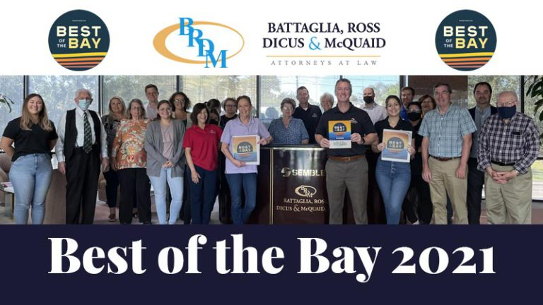 Best of the Bay 2021's Best Law Firm