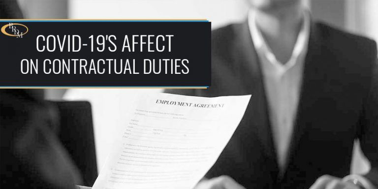 HOW DOES THE CORONAVIRUS (COVID-19) AFFECT CONTRACTUAL DUTIES OF PARTIES IN REAL ESTATE CONTRACTS AND LEASES