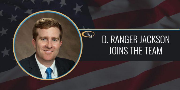 D. Ranger Jackson Joins Battaglia, Ross, Dicus, and McQuaid, P.A.
