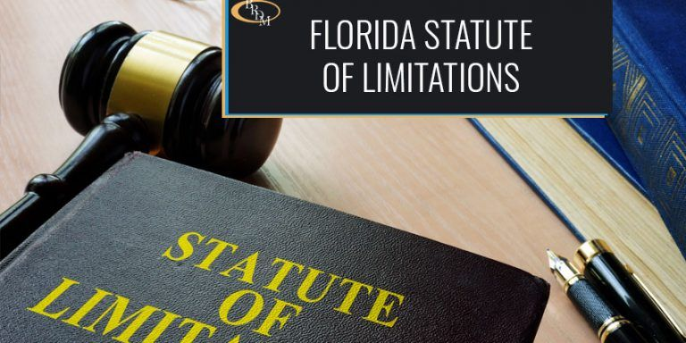 FLORIDA'S STATUTE OF LIMITATIONS