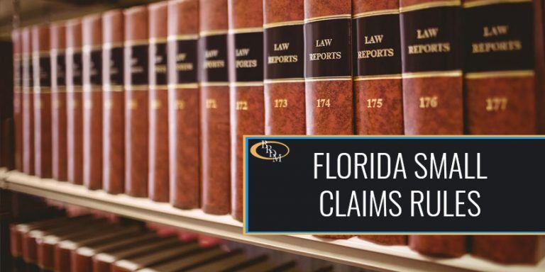 Florida Small Claims Rules