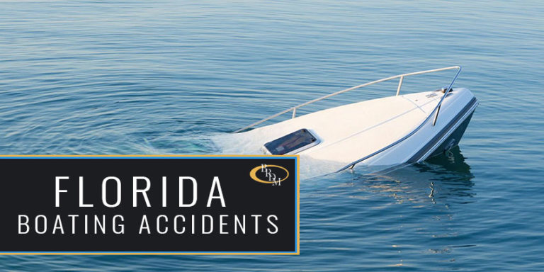 Florida Boating Accident Statistics 2020 Released