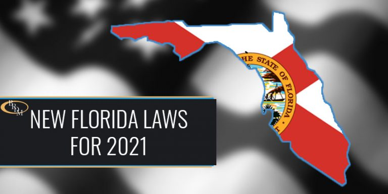 Florida Laws that Begin on January 1, 2021