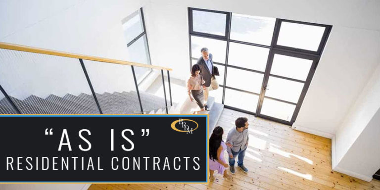 """Florida Real Estate: What Is an """"As Is"""" Residential Contract?"""