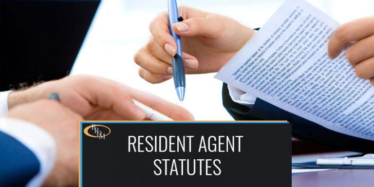 Is It Time To Put Some Teeth Into The Resident Agent Statutes