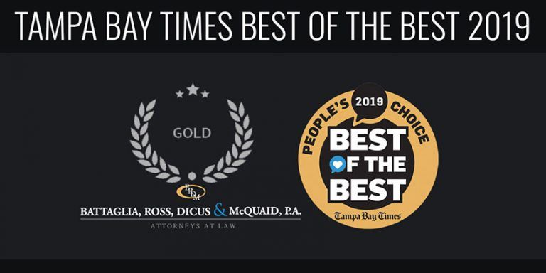 Tampa Bay Times Best of the Best Winner for Best Attorney/Law Firm