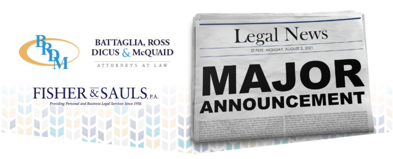 Two of the Oldest Law Firms in Tampa Bay are Joining Forces