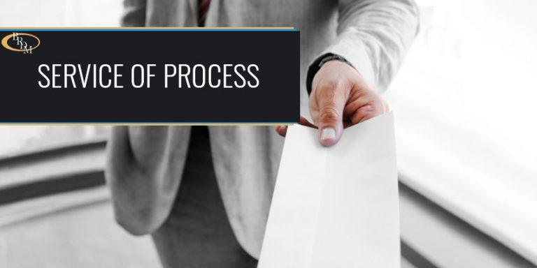 WHAT IS SERVICE OF PROCESS