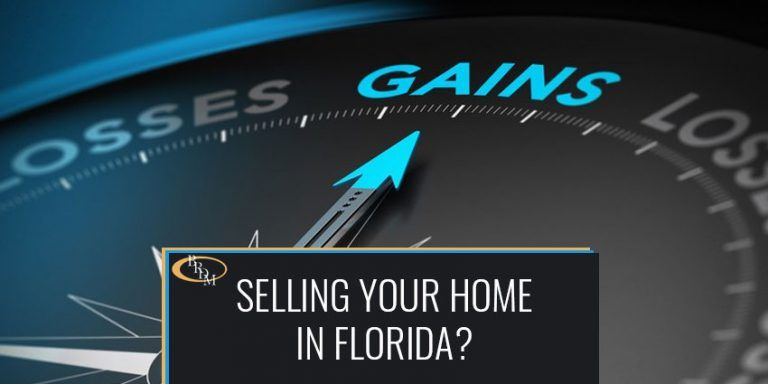 WHAT YOU NEED TO KNOW WHEN SELLING YOUR PRIMARY RESIDENCE IN FLORIDA