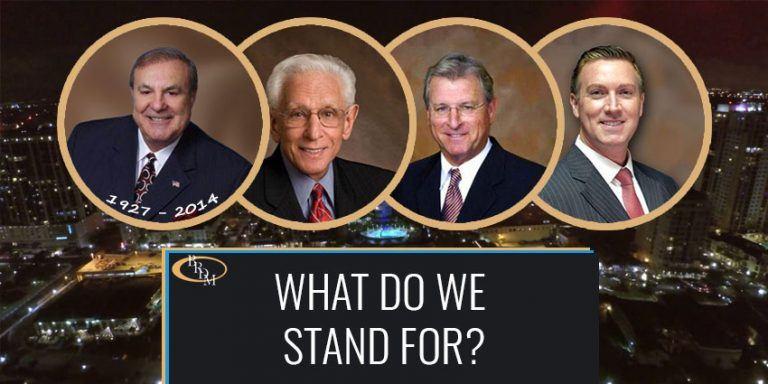 What Do We Stand For at Battaglia, Ross, Dicus & McQuaid?