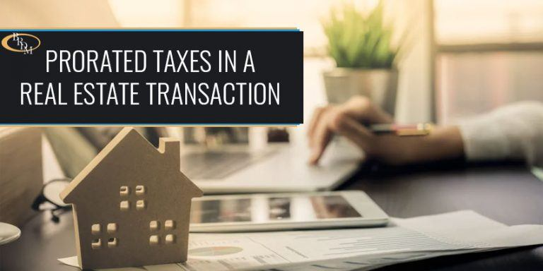 What You Need to Know About Prorated Taxes in a Real Estate Transaction