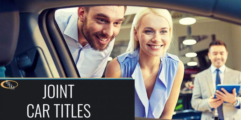 Why Spouses Should Never Title Automobiles Jointly
