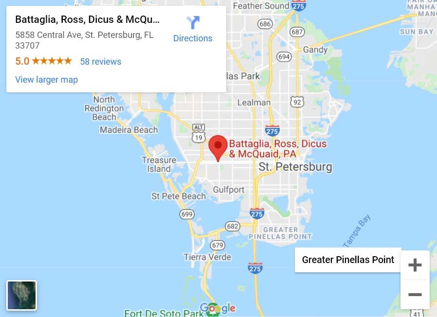 Battaglia, Ross, Dicus & McQuaid, P.A. St Petersburg, FL