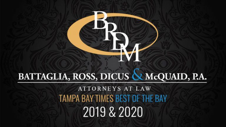 Tampa Bay Times Best of the Best - Best Attorney/Law Firm